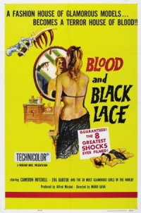 Blood and Black Lace poster