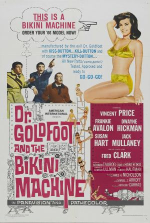 Dr. Goldfoot and the Bikini Machine 1997x2958
