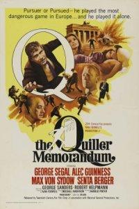 The Quiller Memorandum poster
