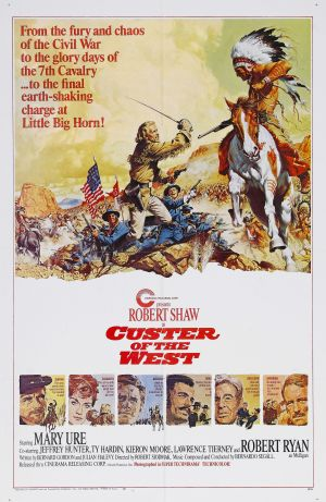 Custer of the West Poster