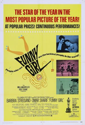 Funny Girl Theatrical poster