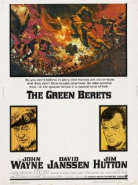 The Green Berets poster