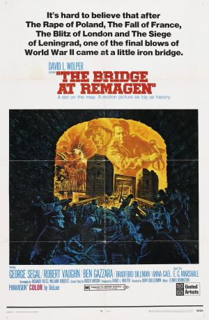 The Bridge at Remagen Poster