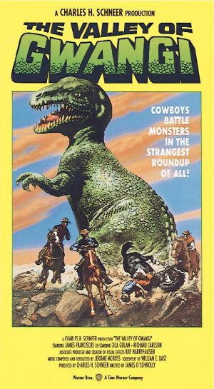 The Valley of Gwangi Vhs cover