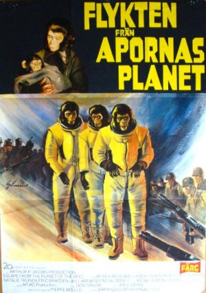 Escape from the Planet of the Apes 431x611