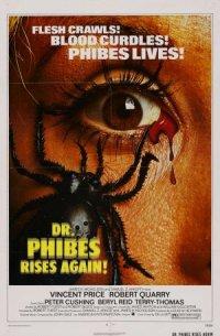 Die Rückkehr des Dr. Phibes poster