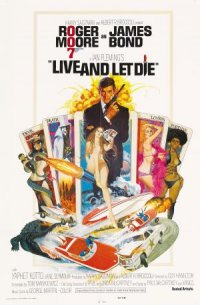 Ian Fleming's Live and Let Die poster