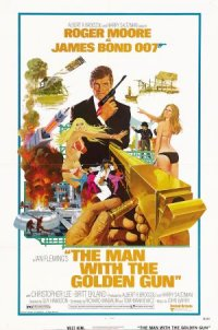 Ian Fleming's The Man with the Golden Gun poster