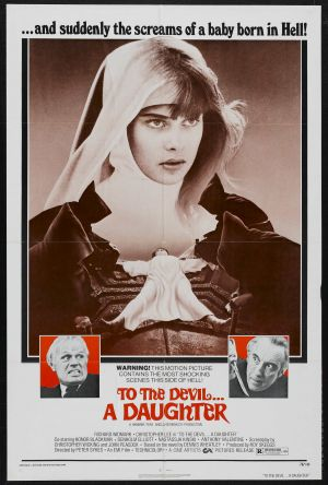 To the Devil a Daughter Poster
