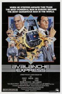 Avalanche Express poster