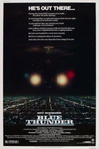 Blue Thunder poster