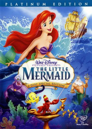 The Little Mermaid Dvd cover
