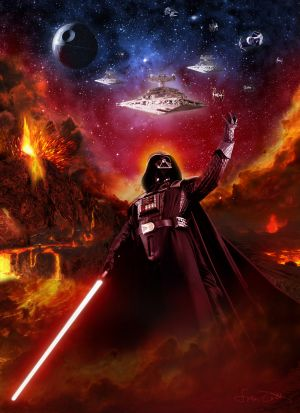 Key art for Star Wars: Episode III - Revenge of the Sith
