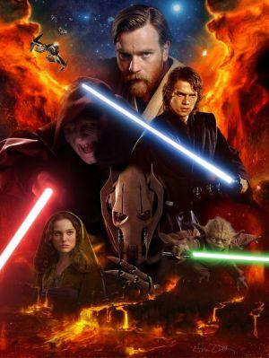 Star Wars: Episodio III - La venganza de los Sith 672x894