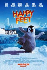 Happy feet - Trencant el gel poster