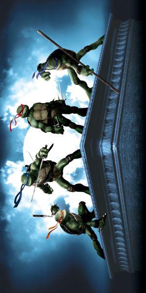 Teenage Mutant Ninja Turtles 2500x5000