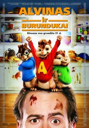 Alvin and the Chipmunks 349x500