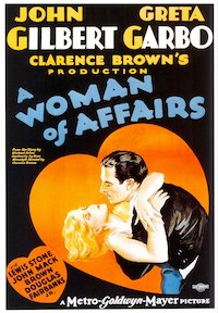 A Woman of Affairs poster