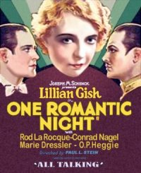 One Romantic Night poster