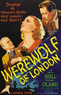 Werewolf of London poster