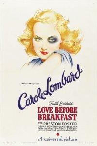Love Before Breakfast poster