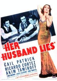 Her Husband Lies poster