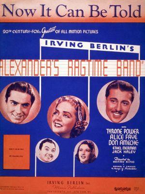 Alexander's Ragtime Band 1126x1506