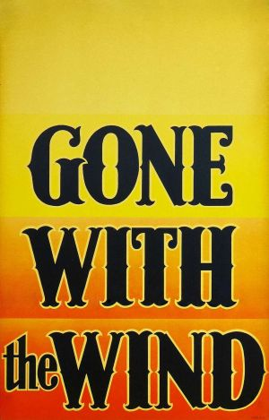 Gone with the Wind 1092x1707