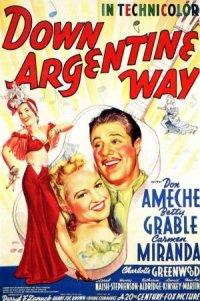 Down Argentine Way poster