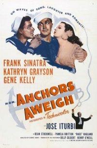 Due marinai e una ragazza poster