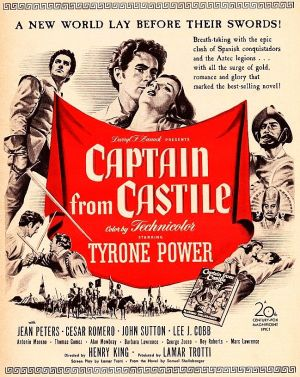 Captain from Castile Poster