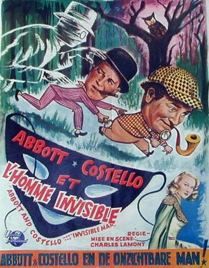 Bud Abbott Lou Costello Meet the Invisible Man 552x704