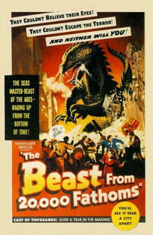 The Beast from 20,000 Fathoms 343x525