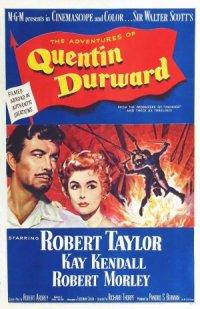 Sir Walter Scott's Quentin Durward poster