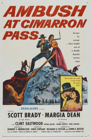 Ambush at Cimarron Pass Poster