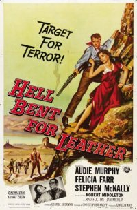 Hell Bent for Leather poster
