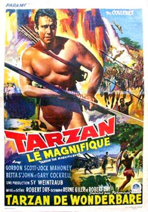 Tarzan the Magnificent 500x714