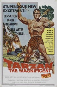 Tarzan the Magnificent poster