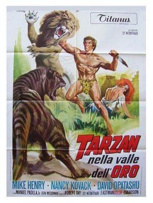 Tarzan und das Tal des Goldes 600x797