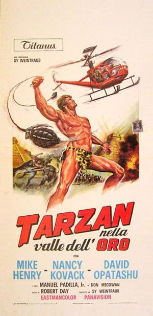 Tarzan and the Valley of Gold 700x1442