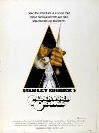 Stanley Kubrick's A Clockwork Orange poster