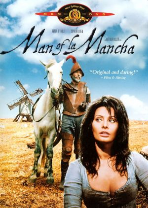 Man of La Mancha Dvd cover
