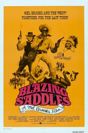 Blazing Saddles 1756x2644