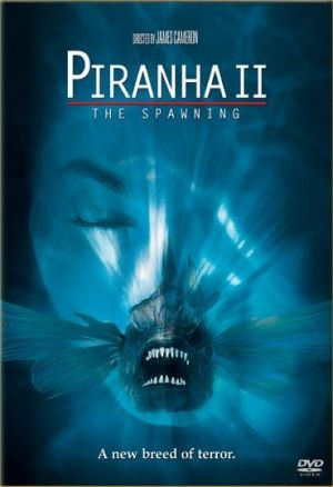 Piranha Part Two: The Spawning Dvd cover