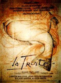 La Truite (The Trout) poster