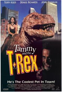 Tammy and the Teenage T-Rex poster