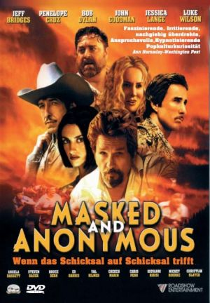 Masked And Anonymous Dvd cover