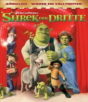 Shrek the Third Blu-ray cover