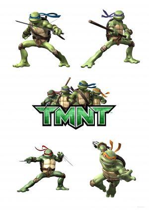 Teenage Mutant Ninja Turtles 3534x5000