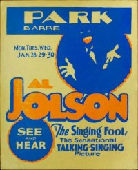 The Singing Fool poster